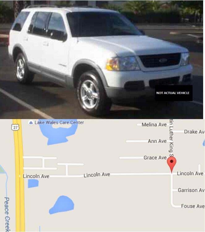 Information Sought In Motor Vehicle Theft Polk County