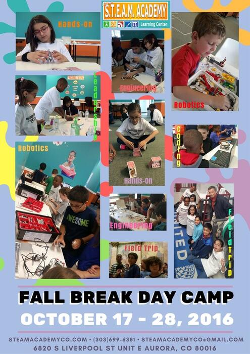 Fall Break Day Camp