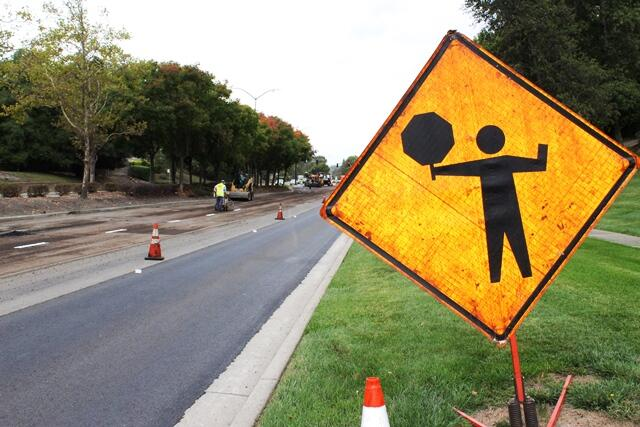 Monday roadwork on srv boulevard town of danville nextdoor for 218 jewel terrace danville ca