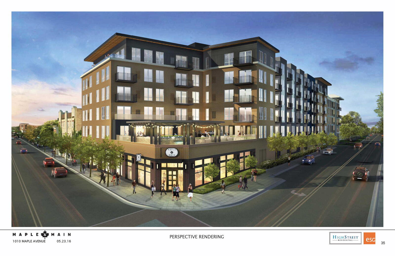 New Retail And Residential Space Coming To Maple Main